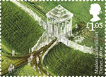 Ancient Britain �05 Stamp (2017) Maiden Castle Hill Fort, Dorset, England c400 BC
