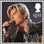 David Bowie 1st Stamp (2017) A Reality Tour, 2004