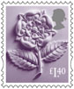 New Country Definitives �40 Stamp (2017) England