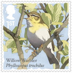 Songbirds 1st Stamp (2017) Willow Warbler