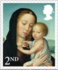 Christmas 2017 2nd Stamp (2017) Madonna and Child
