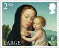 Christmas 2017 2nd Large Stamp (2017) Madonna and Child