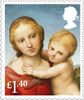 Christmas 2017 £1.40 Stamp (2017) Madonna and Child