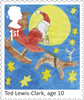 Christmas 2017 1st Stamp (2017) Ted Lewis-Clark - Santa