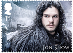 Game of Thrones 1st Stamp (2018) Jon Snow