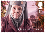 Game of Thrones 1st Stamp (2018) Olenna Tyrell