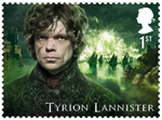 Game of Thrones 1st Stamp (2018) Tyrion Lannister