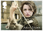 Game of Thrones 1st Stamp (2018) Arya Stark