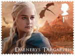 Game of Thrones 1st Stamp (2018) Daenerys Targaryen