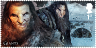 Game of Thrones 1st Stamp (2018) Giants