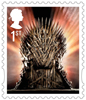 Game of Thrones 1st Stamp (2018) The Iron Throne