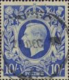 Definitives 10s Stamp (1939) Ultramarine