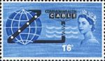 Opening of COMPAC (Trans-Pacific Telephone Cable) 1s6d Stamp (1963) Commonwealth Cable