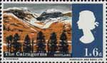 Landscapes 1s6d Stamp (1966) Cairngorm Mountains, Scotland