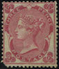 Definitive 3d Stamp (1862) Carmine Rose