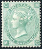 Definitive 1s Stamp (1862) Green