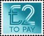 To Pay Labels �2.00 Stamp (1982) To Pay �2.00