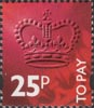 To Pay Labels 25p Stamp (1994) To Pay 25p