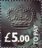 To Pay Labels £5.00 Stamp (1994) To Pay £5.00