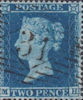 Definitive 2d Stamp (1854) Twopenny Blue