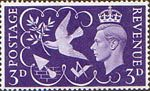 Victory 3d Stamp (1946) Symbols of Peace and Reconstruction