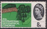 20th International Geographical Congress, London 8d Stamp (1964) Beddgelert Forest Park, Snowdonia ('Forestry')