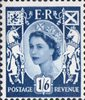 Regional Wilding Definitive - Scotland 1s6d Stamp (1967) Blue