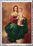 Christmas 4d Stamp (1967) 'Madonna and Child' (Murillo)