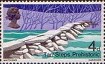 British Bridges 4d Stamp (1968) Tarr Steps, Exmoor