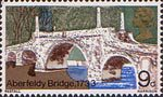 British Bridges 9d Stamp (1968) Aberfeldy Bridge