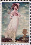 British Paintings 1s Stamp (1968) 'Pinkie' (Lawrence)
