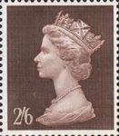 High Value Definitives 2s6d Stamp (1969) brown