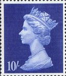 High Value Definitives 10s Stamp (1969) ultramarine