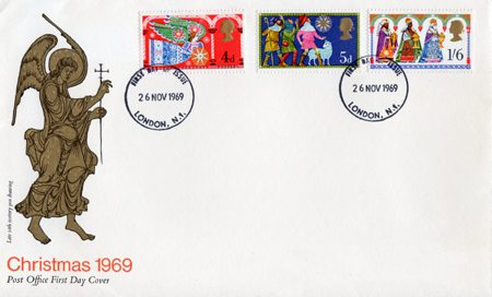 1969 Commemortaive First Day Cover from Collect GB Stamps