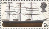 British Ships 9d Stamp (1969) Cutty Sark