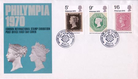 'Philympia 70' Stamp Exhibition (1970)