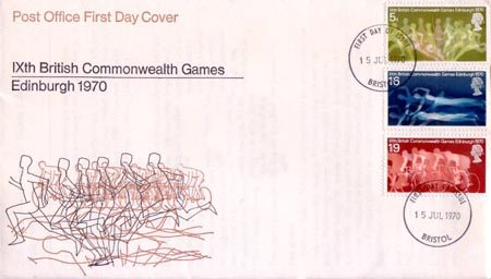 1970 Commemortaive First Day Cover from Collect GB Stamps