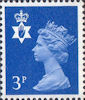 Regional Definitive - Northern Ireland 3p Stamp (1971) Blue