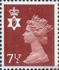 Regional Definitive - Northern Ireland 7.5p Stamp (1971) Brown