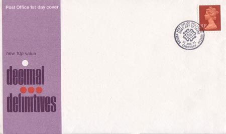 1971 Definitive First Day Cover from Collect GB Stamps