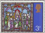 Christmas 3p Stamp (1971) Adoration of the Magi