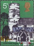 Village Churches 5p Stamp (1972) St Andrew's Letheringsett, Norfolk