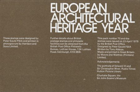 European Architectural Heritage Year (1975)