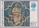 Christmas 6.5p Stamp (1976) Virgin and Child