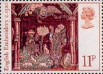Christmas 11p Stamp (1976) Angel appearing to Shepherds
