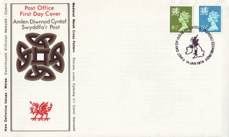 1976 Regional First Day Cover from Collect GB Stamps