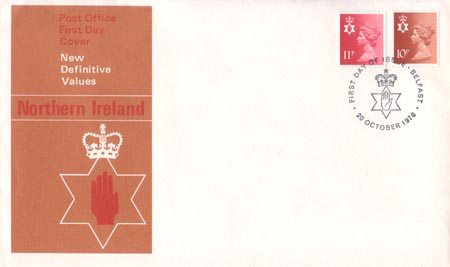 Regional Definitive - Northern Ireland (1976)
