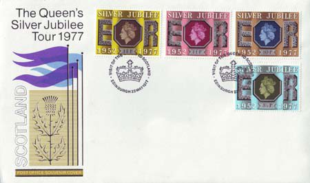 1977 Commemortaive First Day Cover from Collect GB Stamps