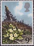 British Flowers 9p Stamp (1979) Primrose