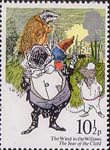 The Year of the Child 10.5p Stamp (1979) The Wind in the Willows (Kenneth Grahame)